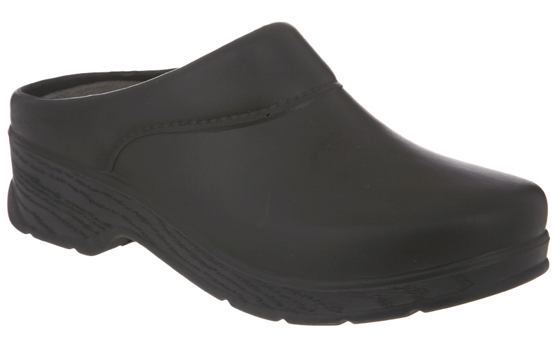 Klogs Abilene - Comfort Unisex Clog - Made In The Usa. Black - 12 Wide